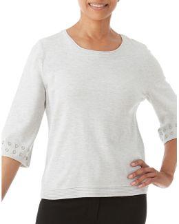 Three-quarter Sleeve Sweater