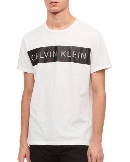 Pieced Cotton T-shirt
