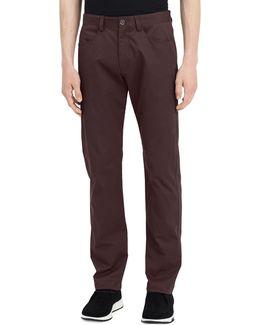 Four-pocket Sateen Bowe Pants