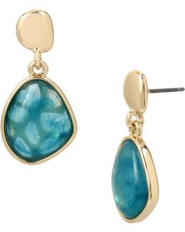 Crystal Polished Dangle & Drop Earrings