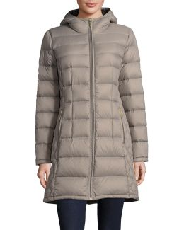 Essential Long Packable Down Jacket