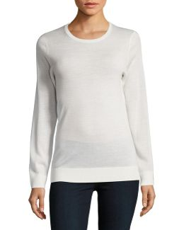 Basic Crew Neck Merino Sweater