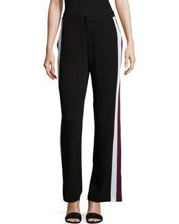 Contrast Stripe Fashion Track Pants