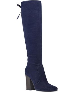 Calhoun Suede Knee-high Boots