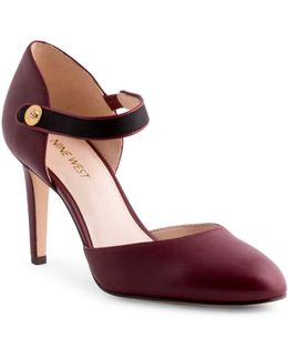 Hansine Leather D'orsay Pumps