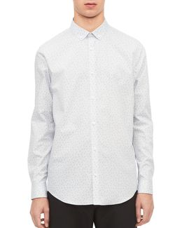 Infinite Triangles Non-iron Sport Shirt