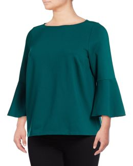 Plus Bell Sleeve T-shirt