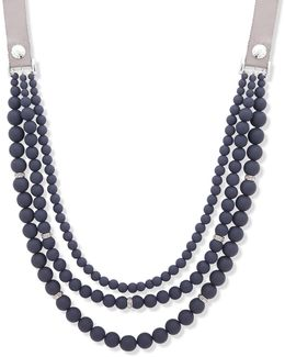 Meet Matte Multi-strands Necklace
