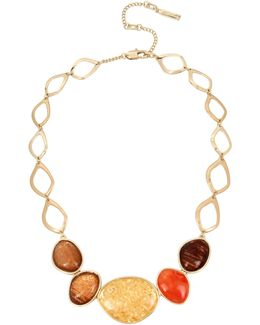 Multi-colored Statement Necklace