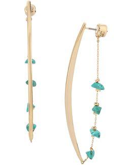 Chain Linear Earrings
