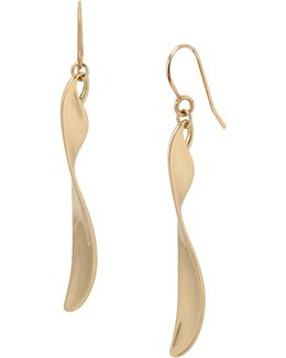 Twisted Linear Earrings