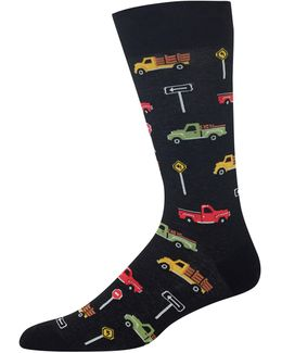 Pick Up Trucks Socks