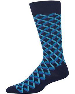 Shadow Geo Socks