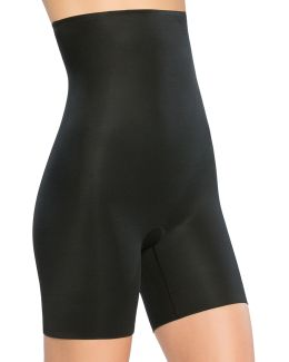 Power Conceal High-waist Mid-thigh Shorts