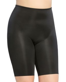 Plus Power Conceal Extended Length Mid-thigh Shorts
