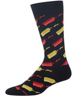 Ketchup And Mustard Socks