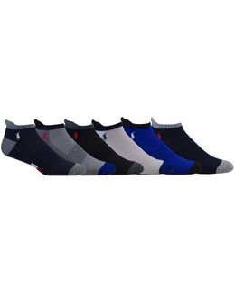 Six-pack Athletic American Low-cut Socks Set