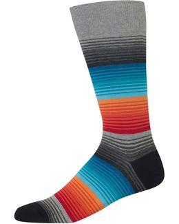 Ombre Stripe Socks