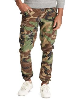 Modern M43 Camo Cotton Cargo Pants With Corozo Buttons