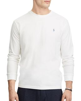 No Pocket Classic-fit Cotton Tee