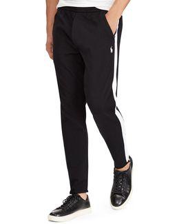Knit Cotton Track Pants