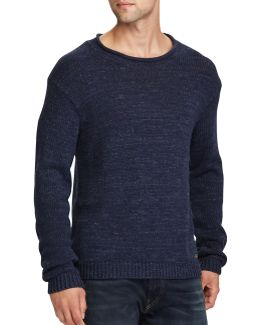 Cotton Rolled Neck Sweater