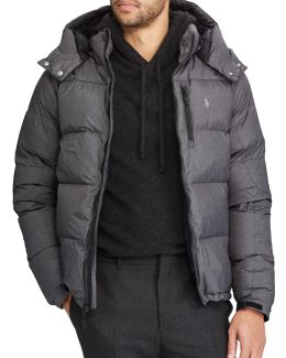 Quilted Ripstop Down-filled Jacket