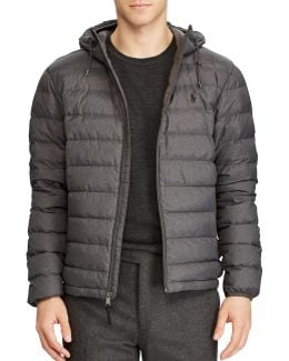 Packable Hooded Down Jacket