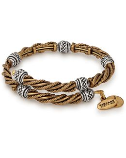 Relic Two-tone Wrap Bracelet