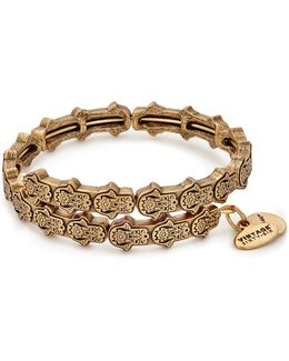 Hand Of Fatima Wrap Bracelet
