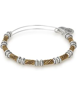 Quill Two-tone Beaded Bangle