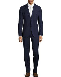 C-jeffery Two-piece Wool Suit