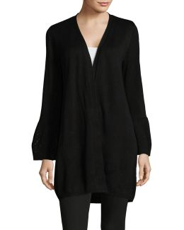 Long Bell Sleeve Cardigan