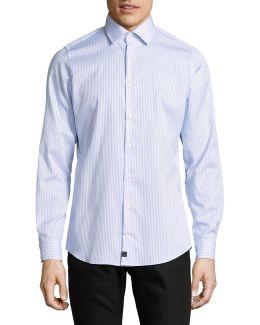 Slim-fit Cotton Sport Shirt
