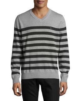 Signature Striped Sweater