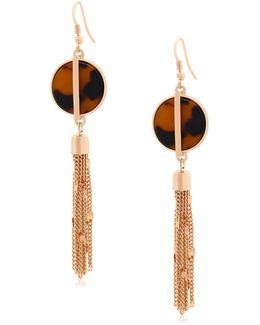 Tortally Mine Tassle Drop Earrings