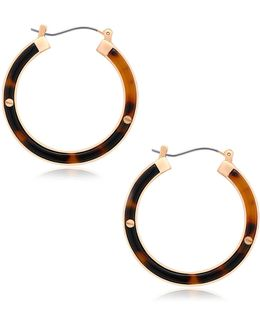Tortally Mine Hoop Earrings