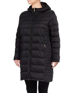 Long Packable Down Jacket