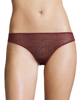 Modern Lace Thong