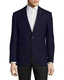 Fully Lined Wool Overcoat