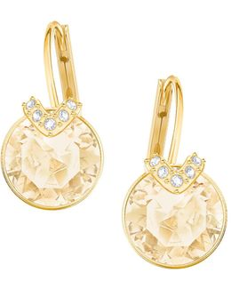 Bella V Goldplated Earrings