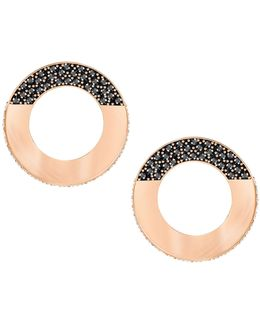 Hoop Fever Round Stud Earrings
