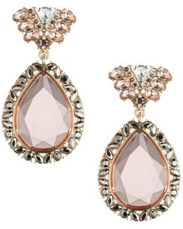 Make Me Blush Teardrop Earrings