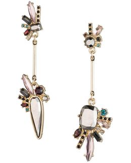 Make Me Blush Mismatch Drop Earrings