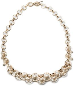 Majestic Faux Pearl Shaky Necklace