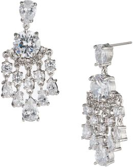 Imperial Sky Mini Chandelier Earrings