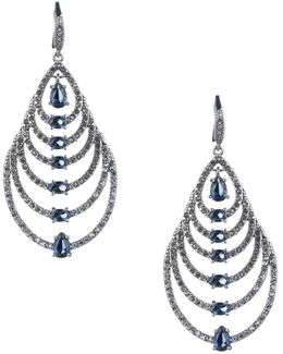 Imperial Sky Pear Drop Earrings