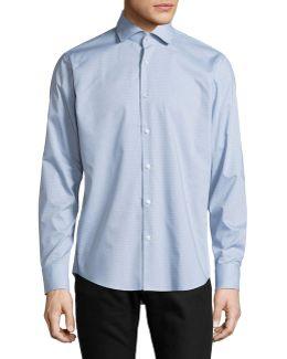 Regular-fit Tattersall Plaid Sport Shirt