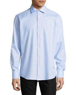 C-gordon Regular Fit Mini Gingham Sport Shirt