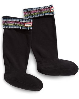 Fair Isle Boot Socks For Original Tall Boots